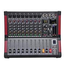 Freeboss MINI8 8 каналов(моно) микшерный пульт с Bluetooth запись 99 DSP эффект USB функция профессиональный звуковой микшер