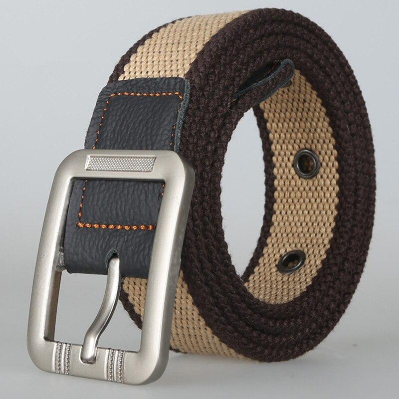 100cm 110cm 125cm Cinturón de lona para hombre Tácticas de rayas - Accesorios para la ropa