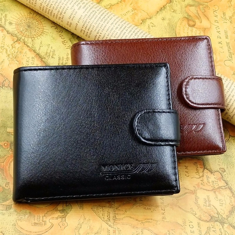 Men Wallet Coin Wallet Small Clutches Men's Purse Coin Pouch Short Men Wallet Free Shipping