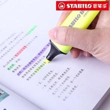 Germany STABILO 70 BOSS ORIGINA Boshile fluorescent pen 9 color / suit