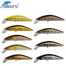 Smart Minnow Fishing Lure 4.5cm3.1g Sinking Hard Bait VMC Hook Isca Isca Artificial Para Pesca Leurre Peche Dur Fishing Wobblers