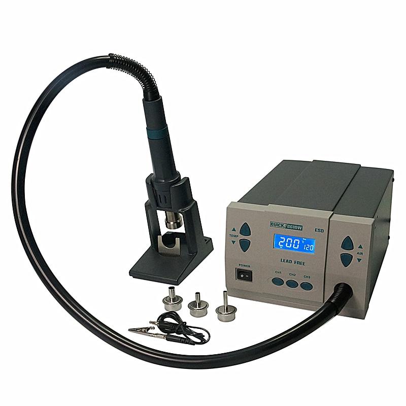 Crack Spot Station Machine Air QUICK QUICK861DW Genuine Soldering Rework Original 861DW Hot