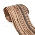 Comprimento: 2.5 metros de espessura: 0.2mm Largura: 15 cm Natural folheado de ébano madeira maciça de couro Mão afixada painel decorativo