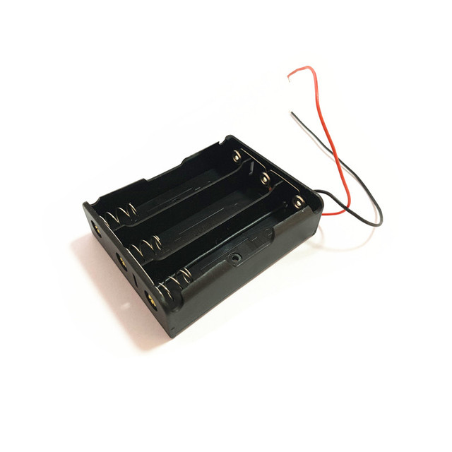 1pcs 18650 Power Battery Storage Case Box Holder Leads With 1 2 3 4 Slots drop shipping 1