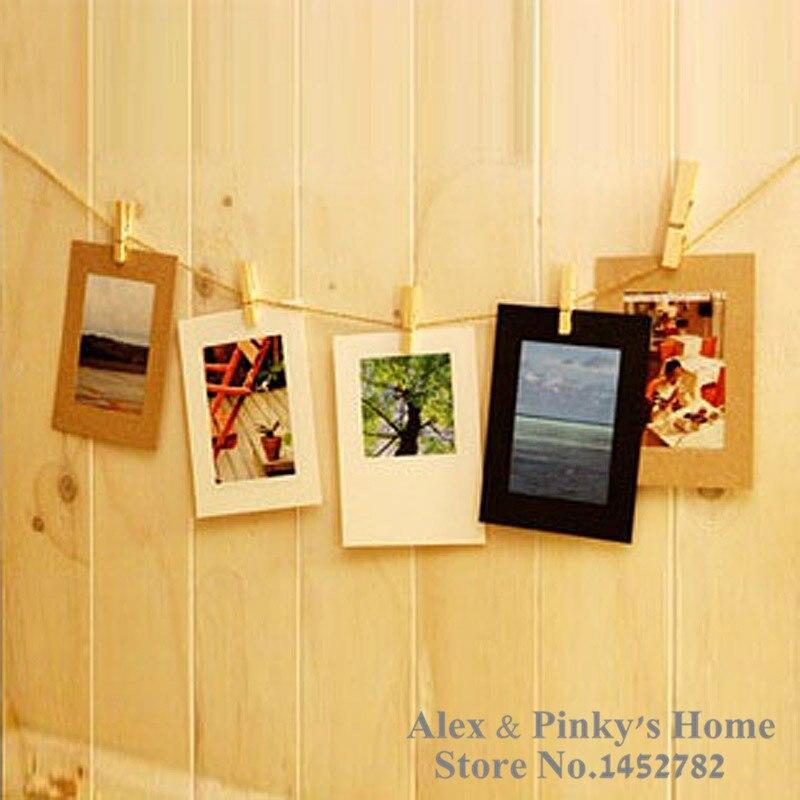 7 cuadros / colgando marco de papel 6 pulgadas foto foto de la pared ...