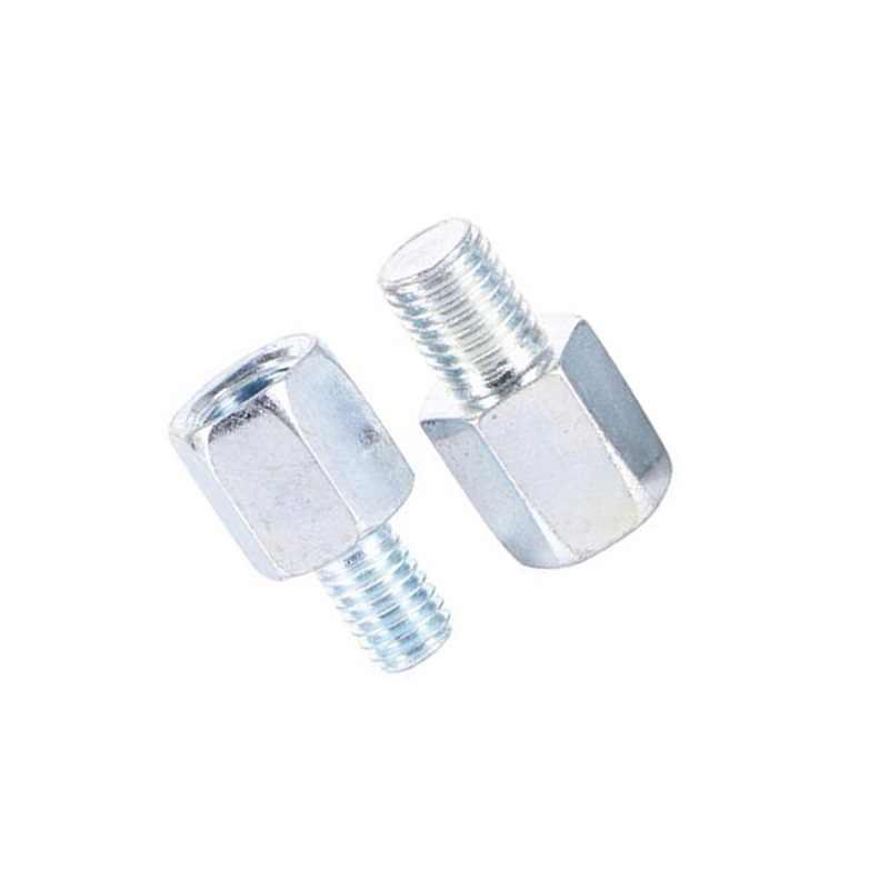 Kualitas Tinggi Motor Kaca Cermin Adaptor Sekrup Reverse Kanan Kiri Thread Adaptor Konversi Screw Nyaman