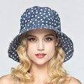 Мода Стиль Волновой Точки Простыня Вс Шляпы Для Взрослых Девочек Открытый Повседневный Вс Шляпы Элегантный Солнцезащитный Крем Путешествия Праздник Sun Beach Шляпы