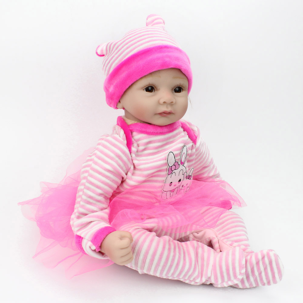 NPKCOLLECTION 55CM silicone baby reborn dolls for girl toys lifelike - doll baby toys dolls toys for girls DOLLSNPKCOLLECTION 55CM silicone baby reborn dolls for girl toys lifelike - doll baby toys dolls toys for girls DOLLS