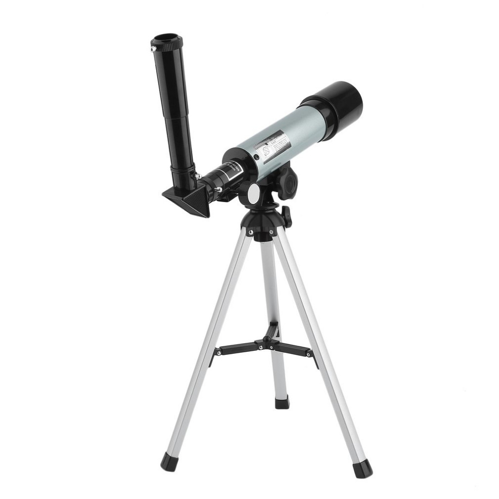 90X Standing Telescope Astronomical Monocular Outdoor Portable Refractor Adjustable Spotting Scope With Tripod For Beginners outdoor telescope spotting scope hd monocular with portable tripod monoculares20 60x60 professional telescope cell phone adapter