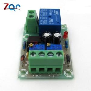 Image 2 - XH M601 tablica kontrolna do ładowania baterii 12V inteligentna ładowarka zasilania sterowania panel modułu automatyczne ładowanie/Stop mocy
