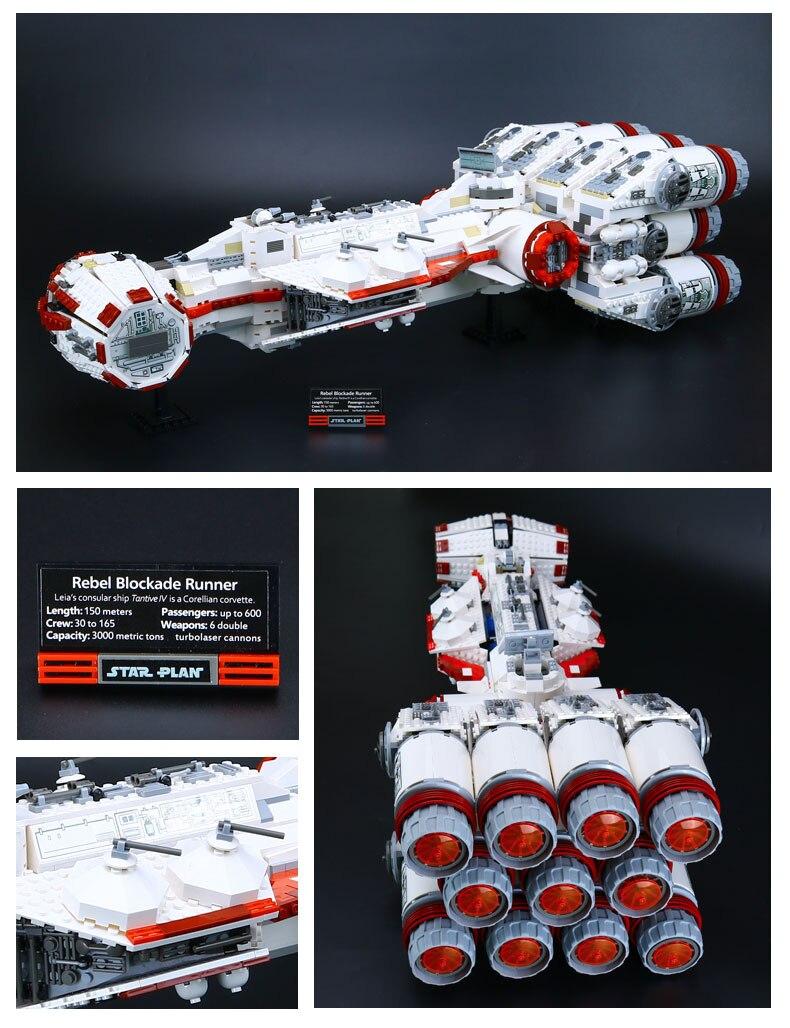 Dhl 05046 star brinquedos guerras compatível com