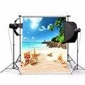 3x5ft Тонкий Винил Фотографии Фон Летний Пляж Сцены Фотографическое Фон Для Studio Фотография Опора Ткань 0.9x1.5 м