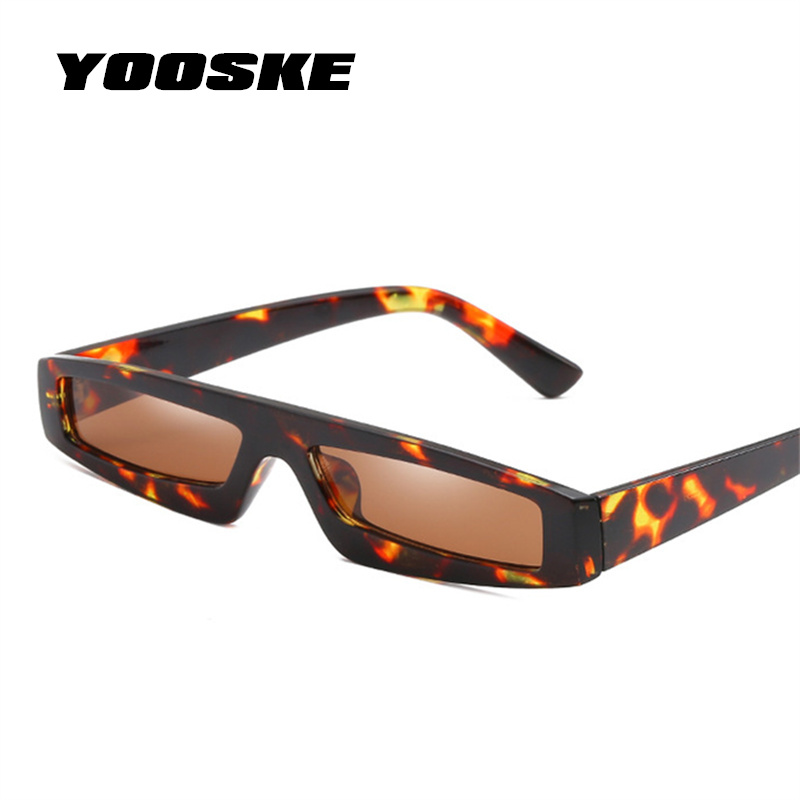 aa303765e3d YOOSKE Rectangle Cat Eye Sunglasses Women 2018 New Design Retro Sun Glasses  Ladies Trend Personality Sunglass Anti-UV Eyewear