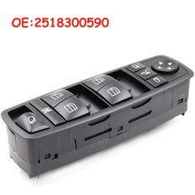Carro para mercedes gl r classe ml350 w251 x164 gl450 r350 janela do carro interruptor mestre de alta qualidade oem 2518300290 a2518300290