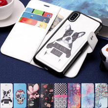 Case For iPhone X Luxury Detachable 2 in 1 Leather