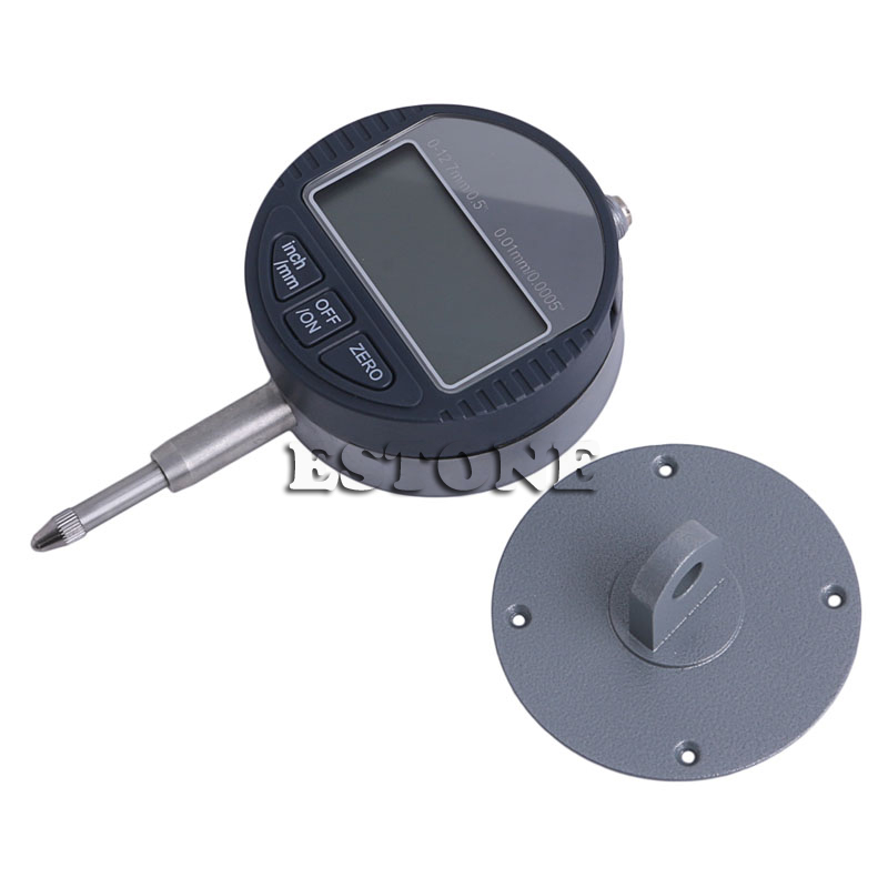 0 12 7mm 1 quot Range Gauge Digital Dial indicator Precision Tool 0 01mm 0 0005 quot Tester Tools in Dial Indicators from Tools