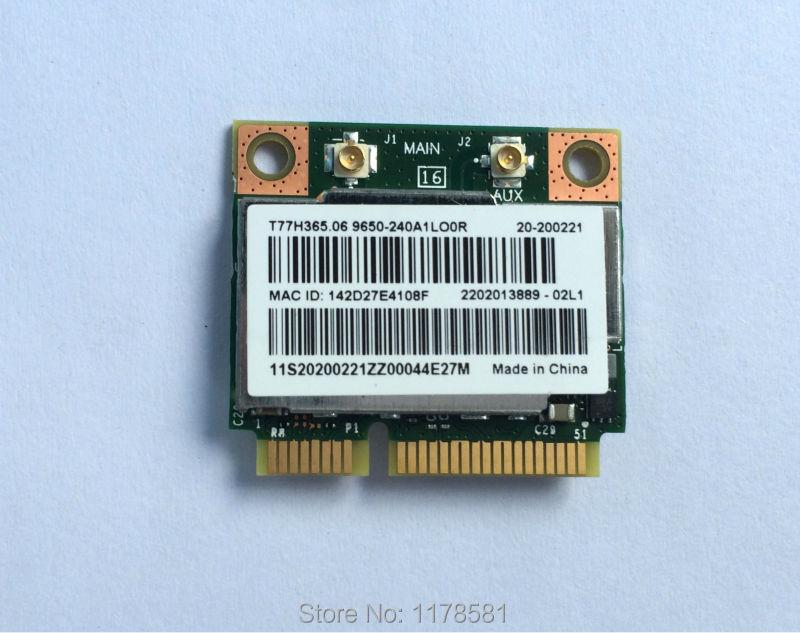 Dual Band Broadcom BCM943228HMB 802 11a/b/g/n 300Mbps Wifi Wireless  Bluetooth 4 0 Half MINI pci e Card Notebook Wlan 2 4Ghz 5Ghz