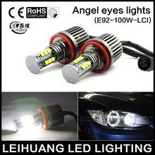 NEW 120W H8 LED HALO ANGEL EYE LIGHT BULBS FOR BMW E70 E71 E87 E92 E93 WHITE
