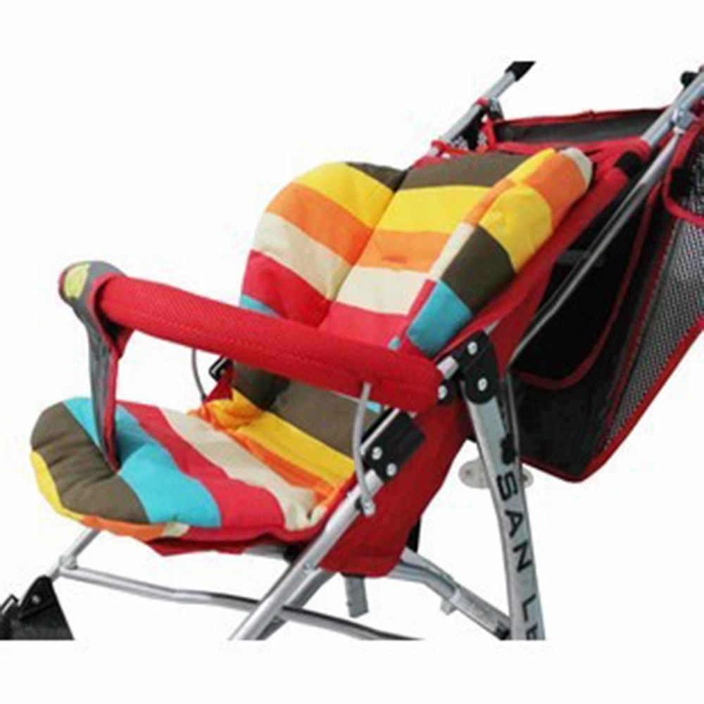 Universal เด็กรถเข็นกันน้ำเบาะ Pads กินเก้าอี้เบาะ Pad อุปกรณ์เสริมสำหรับรถเข็นเด็กทารกรถเข็นเด็ก Pad Mat Cushion