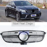 High quality Front Diamonds Star Style Grille For Mercedes Benz GLE 43 AMG 450 Coupe C292 Vehicle Car 2016 2018 year