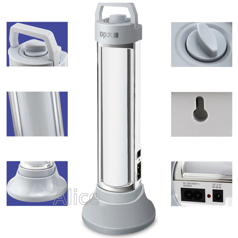 High quality 8.2W Rechargeable led camping solar lamp Emergency Lights SMD 5730 82 LED lamp beads LED <font><b>Tube</b></font>