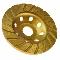 KSEIBI 644060 Super Turbo Diamond Cup Wheel 7 Inch 180 Mm With Reduced Ring