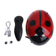 Get more info on the 1PC  New Cartoon adybird Robot Electric Toys Kids Pets Remote Control Mini Walking Insect Interactive Children Toys Gifts