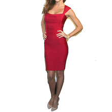 Verband Bodycon Kleid Cocktail Party Kleid HL015 # XS S M L