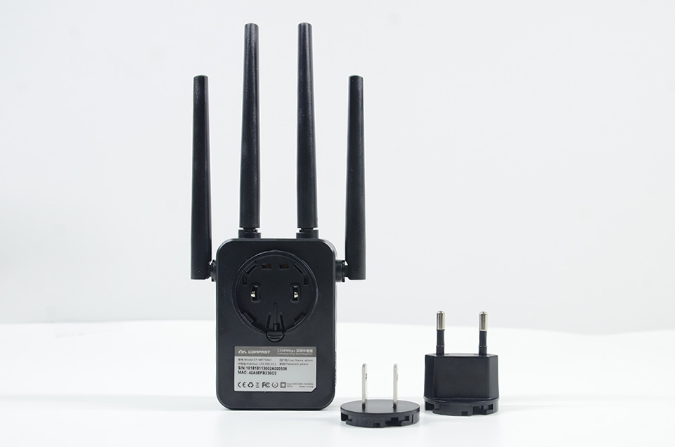 Comfast CF-WR754AC 1200Mbps Home Wireless N Router Wifi Repeater 5Ghz Long Wi fi Range Extender Booster 4*2dbi Antenna Amplifier
