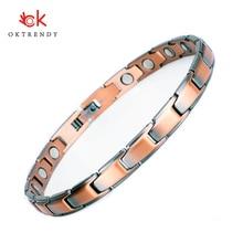 Oktrendy Slim Bracelet Magnetic Bracelets For Women Bangle Fashion Charm ion Energy Pain Relief