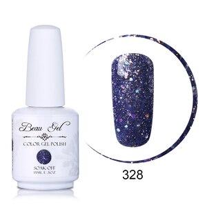 Beau Gel 15ml Nagellack Wunderschöne Farbe Nagel Gel Tränken Weg UV Vernis Semi Permanent Gel Lacke Lack gelpolish