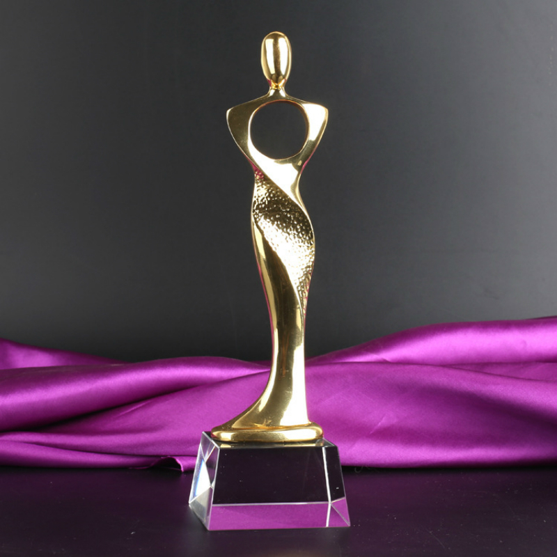 Free Customized Souvenir Statuettes Roman Myth Goddess Of Love Trophy Cup Best Actress Beauty Contest Champion Academy Award