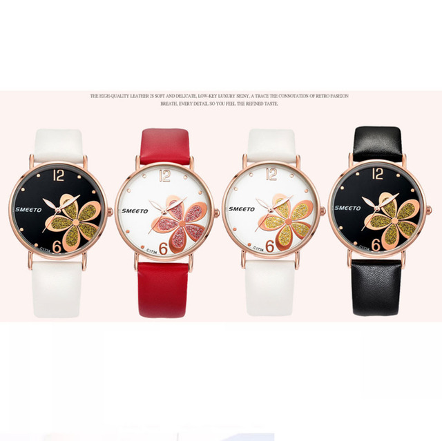 Relogio Feminino Fashionable Luxury women Watch Trendy Female Watches Flower Quartz Wristwatch Beautifully Valentine Gift 30Q