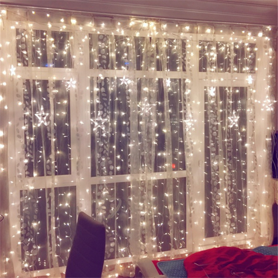 Customized Waterproof LED Fairy Lights String Lights for Holiday Party Garden Wedding Christmas lights Outdoor Decoration Leds
