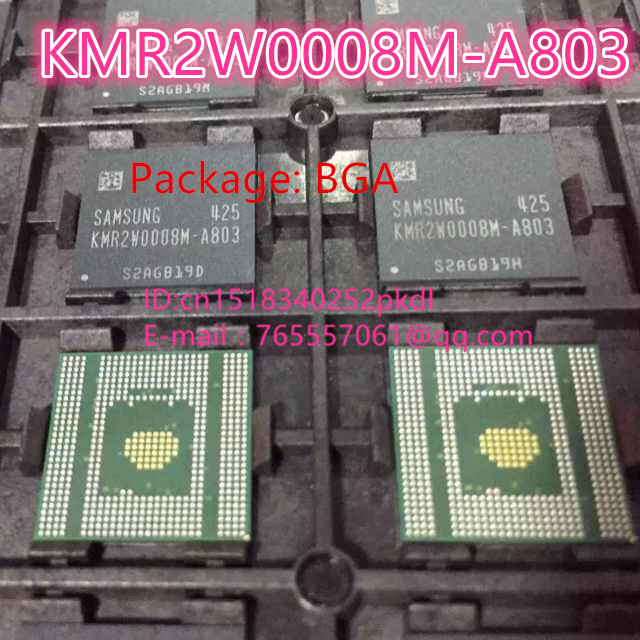 (1PCS) (2PCS) (5PCS) (10PCS) 100% new original imported KMR2W0008M-A803  BGA memory chip original supply