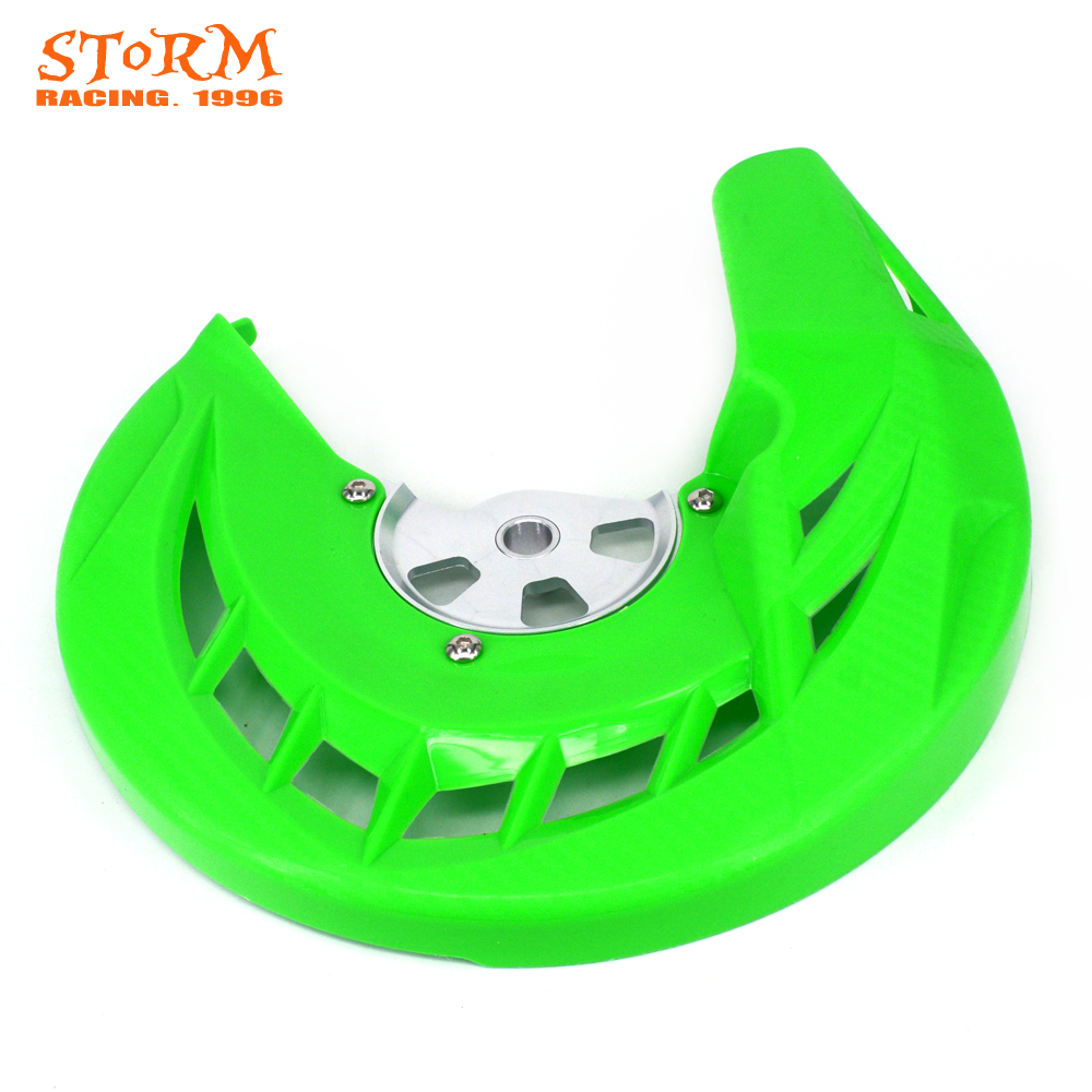 Front Brake Disc Rotor Guard Protector Cover Protection For KAWASAKI KLX250 KLX 250 2008 2009 2010 2011 2012 2013 2014 2015 2016 keoghs motorcycle brake disc brake rotor floating 260mm 82mm diameter cnc for yamaha scooter bws cygnus front disc replace