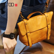 AETOO TRetro to do the old first layer of vegetable tanned leather shoulder bag handicrafts handmade handbags