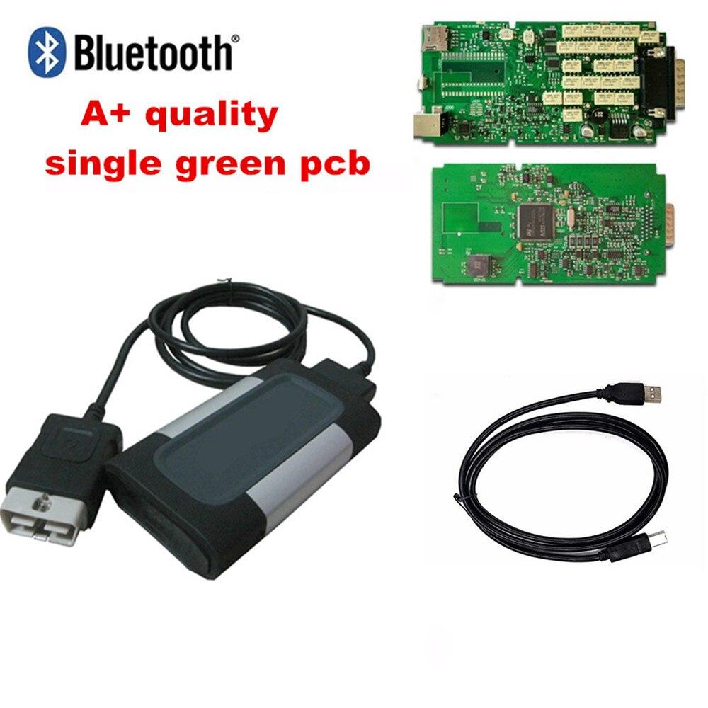 Single Green Pcb Board for delphis 2015R3 2016 0 vd ds150e cdp pro plus obd scanner