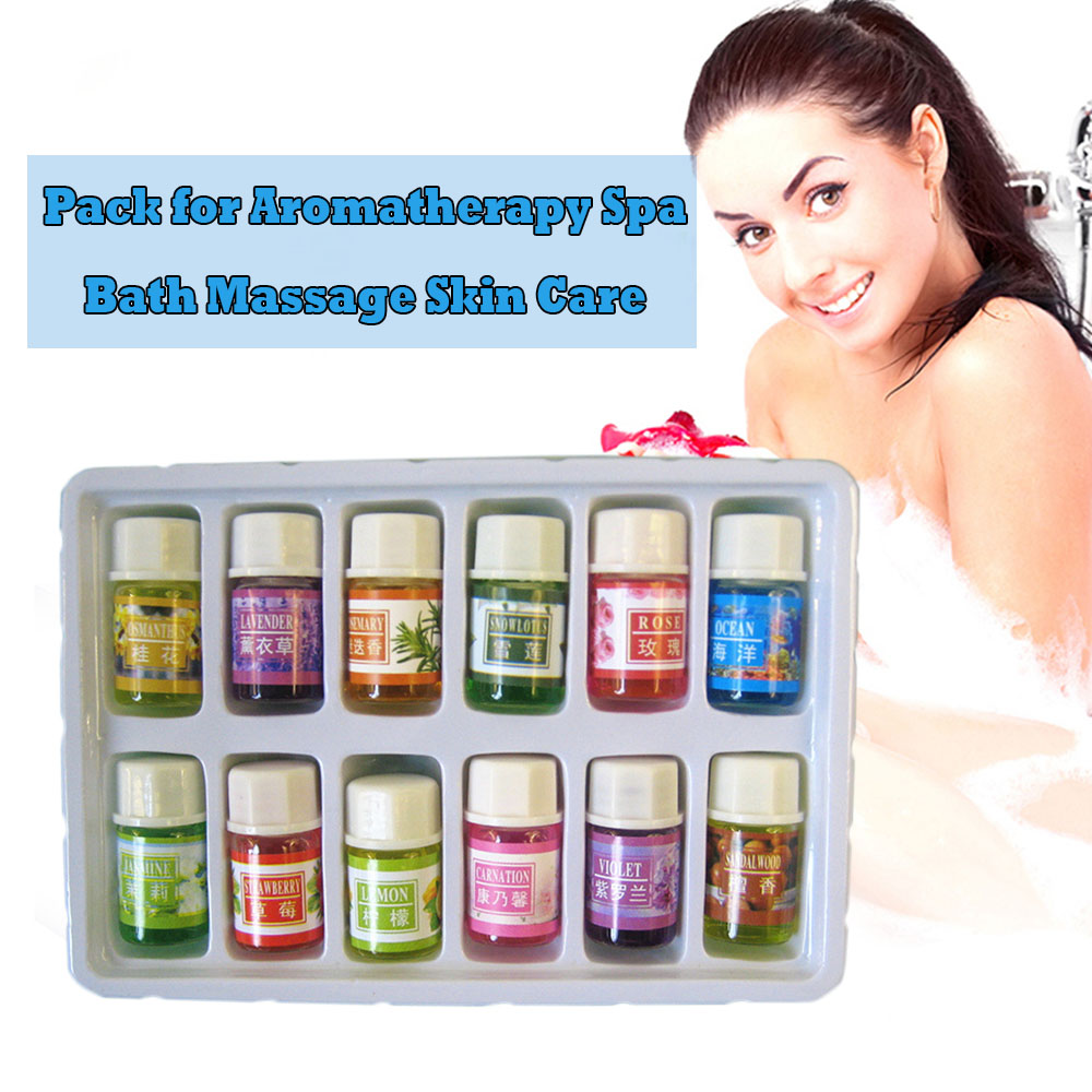 3 мл Essential Масла пакет для ароматерапии spa Для ванной массаж Уход за кожей масло лаванды с 12 видов аромат