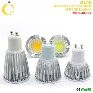 Image 5 - Cob ledスポットライト 9 ワット 12 ワット 15 ワットledライトE27 E14 GU10 GU5.3 220v MR16 12v cob led電球ウォームホワイトコールドホワイトランパーダledランプ