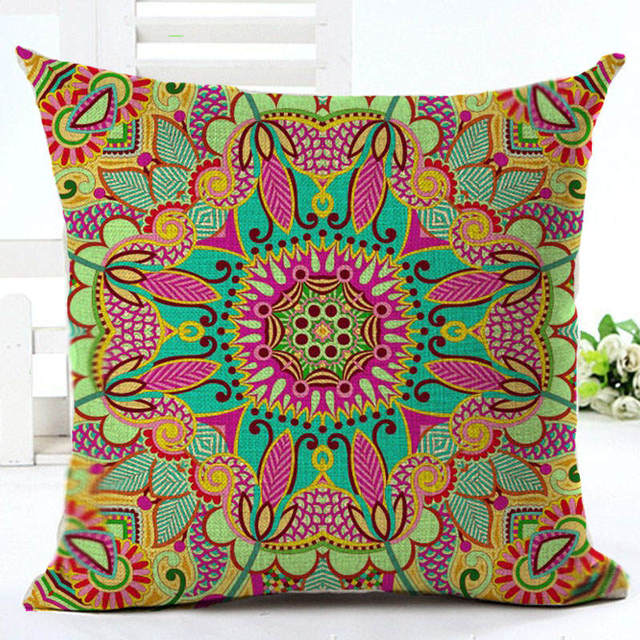 Bohemian Style Decorative Pillow Covers