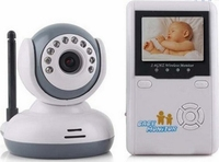 2.4GHZ Digital Wireless Video Baby Monitor With LCD Display ip camera wireless with cctv monitor
