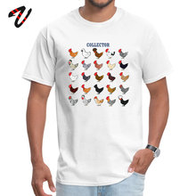 Latest Mens T Shirt Chicken collector Printed On Tshirts Twin Peaks Slash Sleeve Customized Round Collar Wholesale
