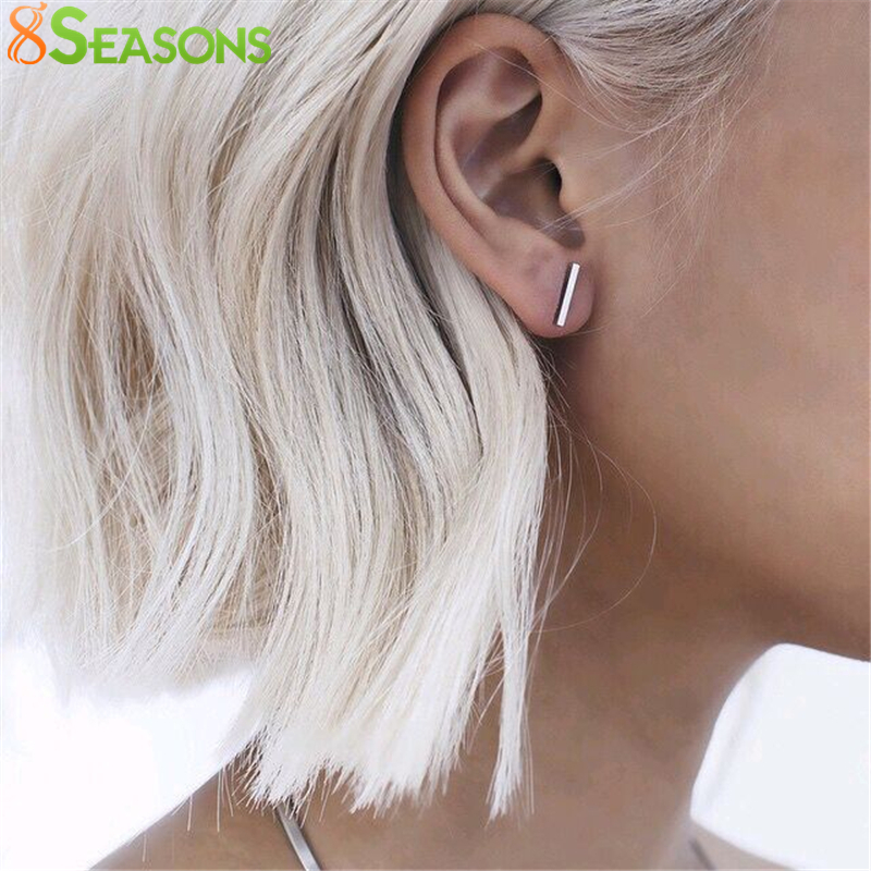8SEASONS New Fashion Jewelry Hiphop Punk Cool Easy Clip Studs