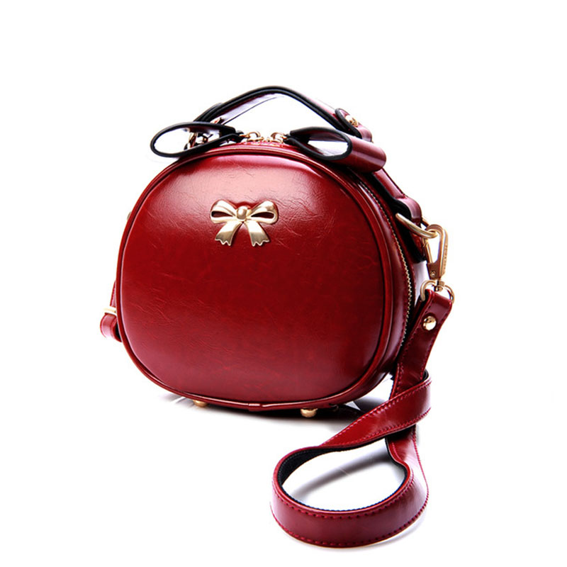 2017 Vintage Circle Mini Cross Body font b Bag b font Butterfly font b Shoulder b