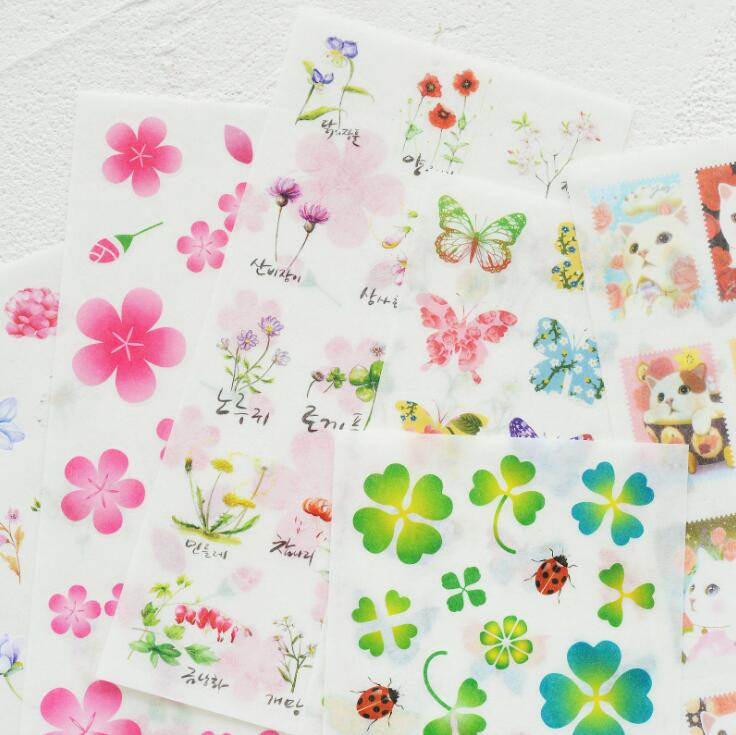 Natural Breath Adhesive Stickers Scrapbooking DIY Decoration Stickers Mobile Phone Stickers alive for all the things are nice stickers adhesive stickers diy decoration stickers