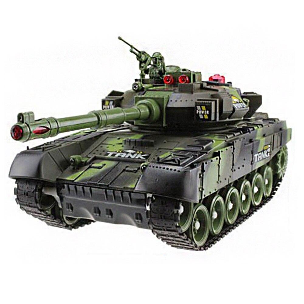 Реалистичный крутой Танк автомобиль игрушка 1 набор Многоцветный культивировать интерес Декор игры - Цвет: green
