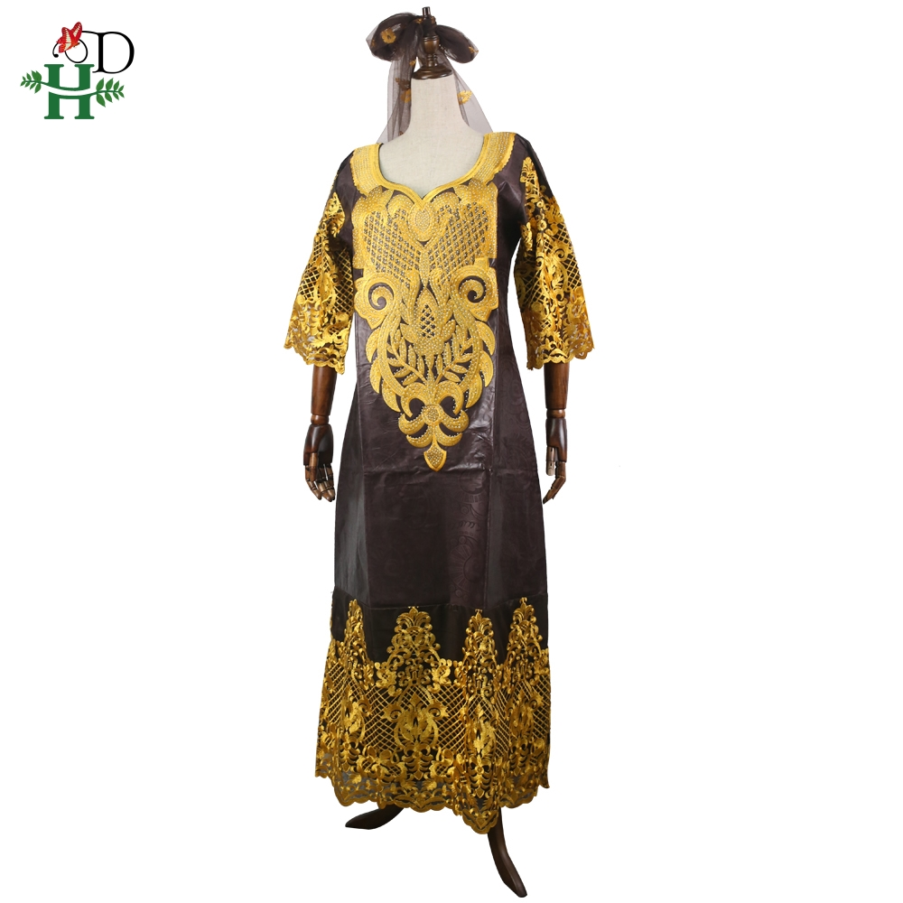 african women lace dress headwrap headscarf long robe africa lady clothes suits in Africa Clothing from Novelty Special Use