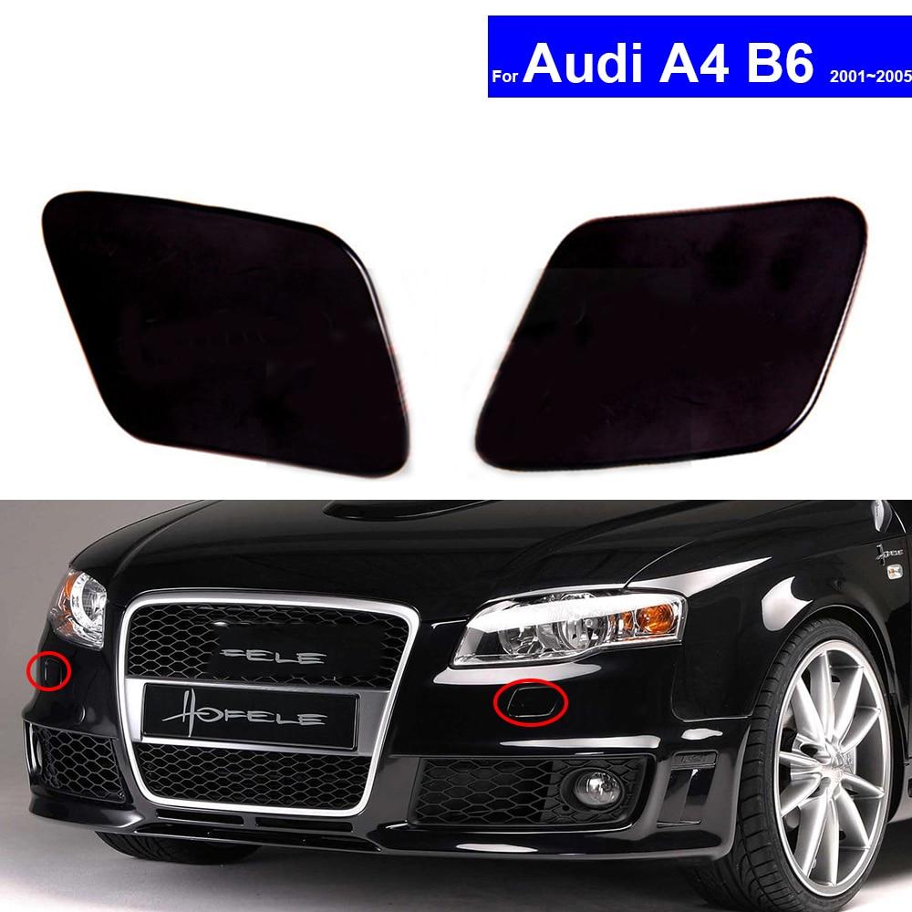 AUDI A4 2x FRONT CAR//VAN SEAT COVERS BLACK 1+1 2002-2005