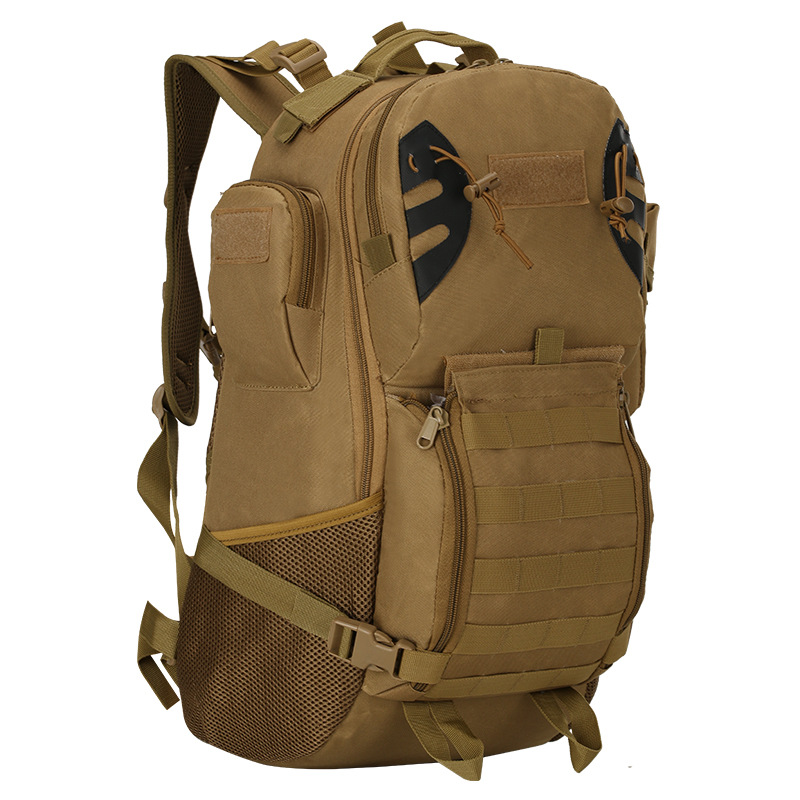 Military tactical men double shoulder bag rucksack outdoor climb mountaineering wear resistant backpack oxford sports bag pack 3d tactical outdoor double shoulder backpack knapsack bag black